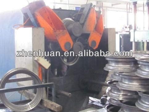 Steel ring making machine