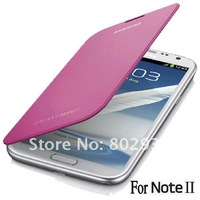 Чехол для для мобильных телефонов 1PC For Note2 Case, Leather Flip Cover With Back Battery Case For Samsung Galaxy Note II 2 N7100, Original Quality