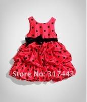 Платье для девочек 2012 NEW Cute Toddler's & Little Girl's Tiered Dress girl's princess dress, Baby dress