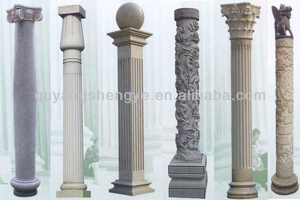 Carving marble interior decorative columns buy interior for Decorative columns