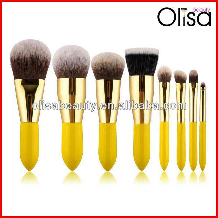 Yellow Handle Makeup Brush