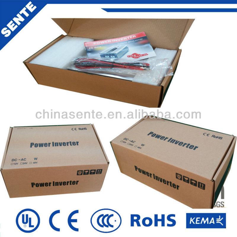 High quality 500w solar power automobile power inverter 12v/24v/48v/96vdc to 110v/220v/230v/240v
