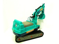 Детский автомобиль EMS children car toys excavator, Plastic Child ride on car toys vehicle gift, baby kid toy model hobby, Yellow/blue