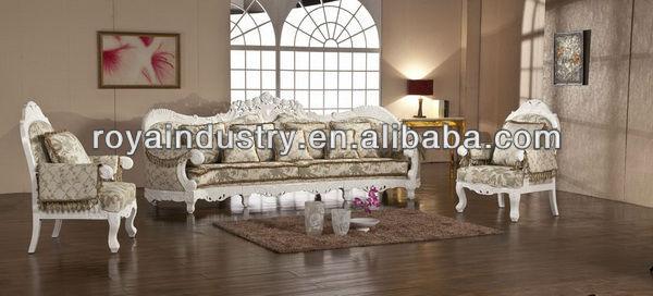 Estilo europeo de madera tallada muebles clásicos ra271 sofás para ...