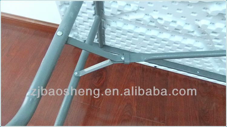 White Plastic 8ft Rectangle Cheap Folding Table Buy
