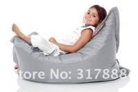Free shipping fatboy Child or junior relaxing beanbag chair , portable anywhere beanbag seat