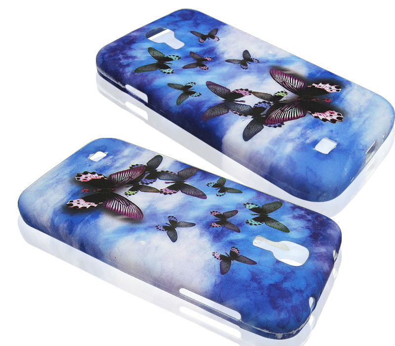 Butterfly Gel TPU Case for Samsung Galaxy S4