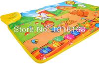 Обучающий компьютер для детей Russian toy Farm children multifunctional music game carpet parent-child crawling pad toy machine learning