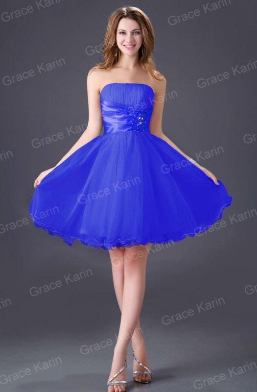 Платья на выпускной короткие пышные платья