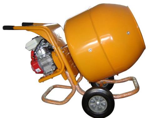 Бетономешалка с двигателем внутреннего сгорания