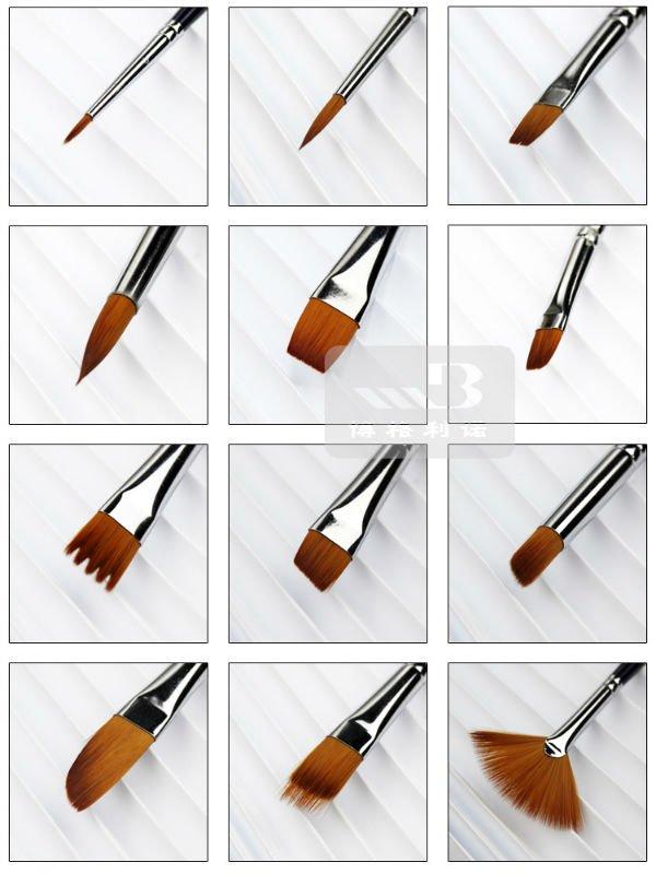 Как сделать кисть цветной