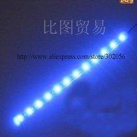 2pcs/lot  High brightness 5050 SMD 30CM 12 LED waterproof flexible led strip TL008p free shipping