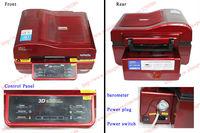 Новый дизайн, 3d многофункциональный сублимации тепло пресс машина для кружка Кубок телефон случае 3d вакуумный теплопередачи машины 110v или 220v