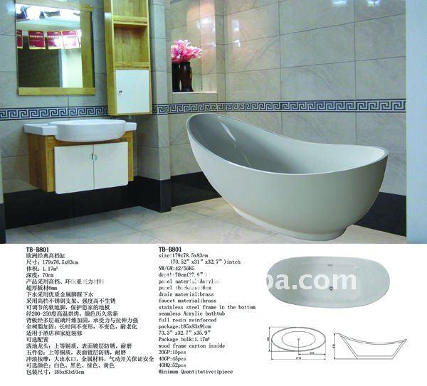 free standing vasca da bagno-Vasca da bagno-Id prodotto:401272269 ...