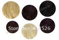 """Парик из искусственных волос Women's Girls Long 22"""" Half Head 1/2 Head Body Wavy Clip Reversible Hair Wig Piece 7240"""