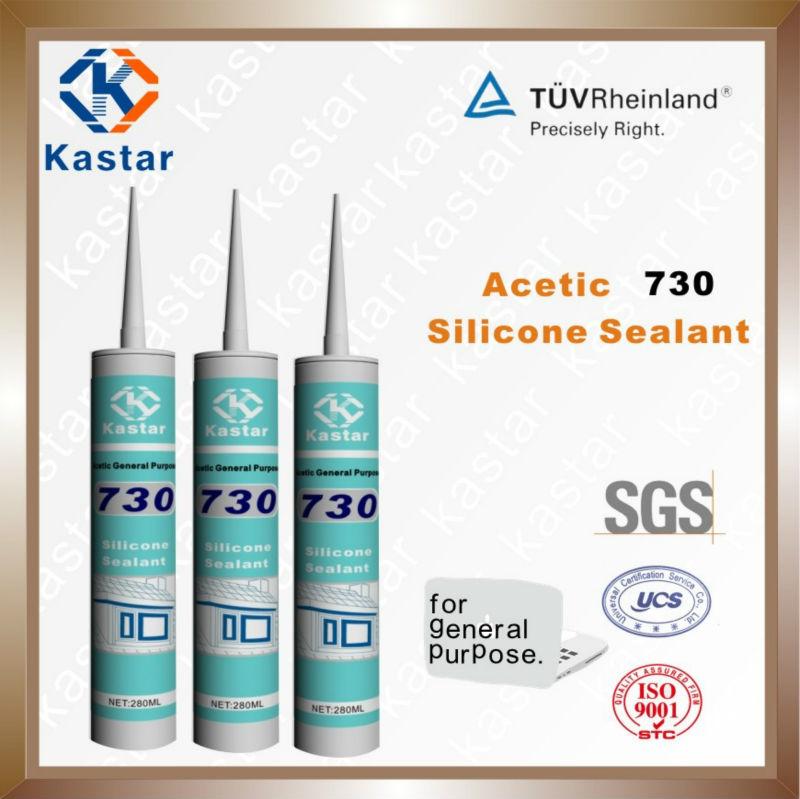 OEM acetic silicome sealant for aquarium