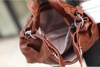 новый бренд дизайнер сумки композитный натуральная кожа женщин Сумочка одно плечо креста тело мешок! A23