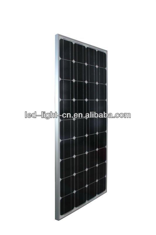 High power efficiency Monocrystalline 500 watt solar panel