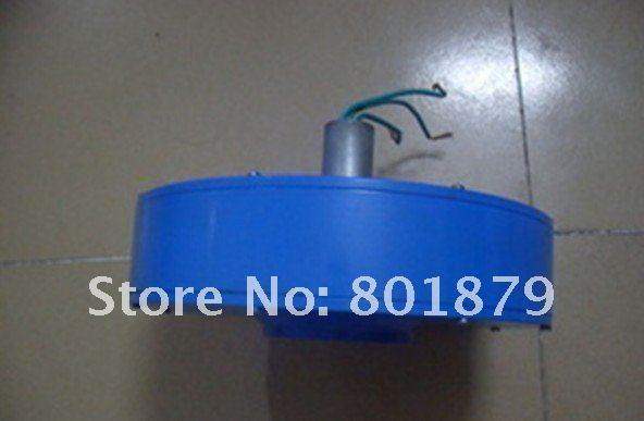 Fedex Freeshipping! 600W disc motor for Vertical Wind Generator, Three-phase permanent magnet Disc generators