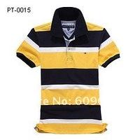 Мужская футболка 2012 New strip Men's polo shirts, fashion design polo shirts, Men's short sleeve golf shirts, 100% Cotton, top quality