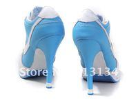 Женские кроссовки womens sports heel shoes 2012 models mix orders women's blue/white