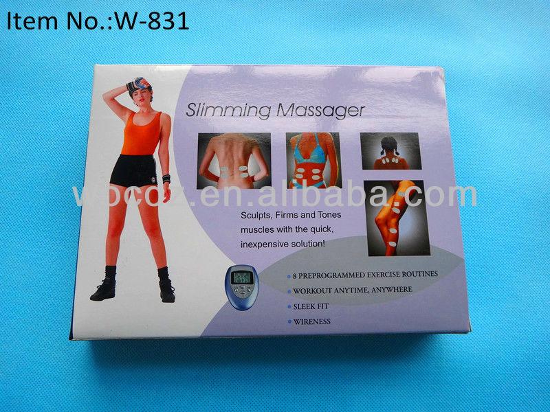 Digital therapy tens mini slimming massager/mini personal massager/small tens therapy massager