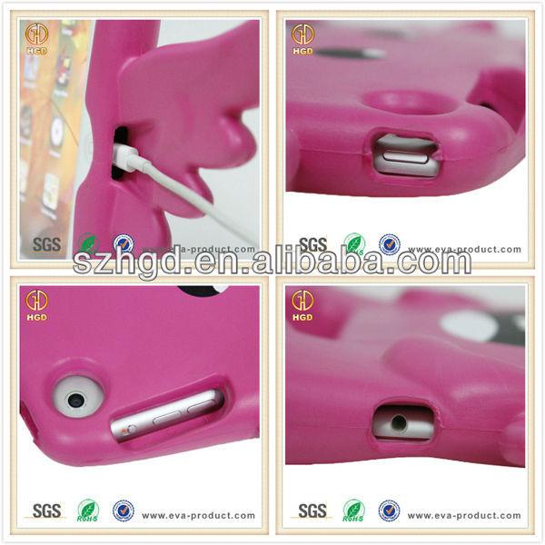 Freestanding Drop proof EVA foam rubber case for tablet kid safe