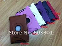 "For google nexus 7"" tablet pc stand case and screen protector, 360 degree rotation case, free shipping"