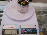 Free shipping 6pcs/lot (dia 5.2cm)  4-layer Metal herb grinder Tobacco Grinder Machine manual Gift GR097