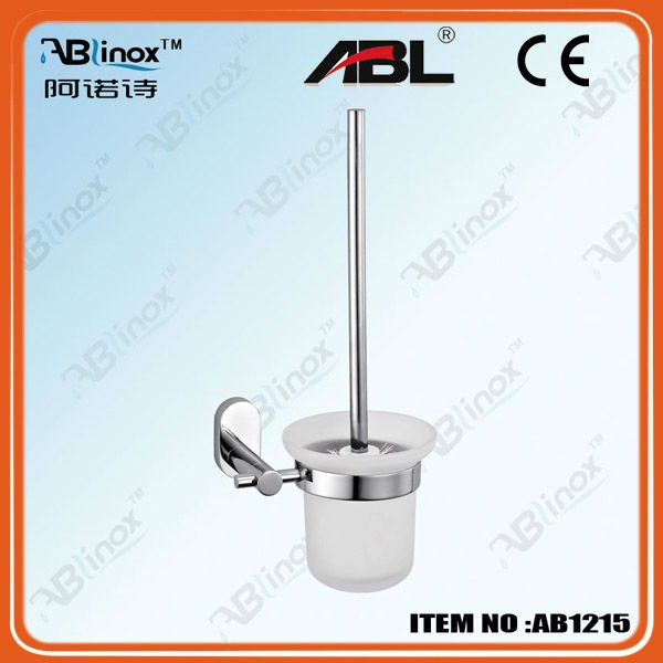 stainless steel bathroom accessories toilet brush holder