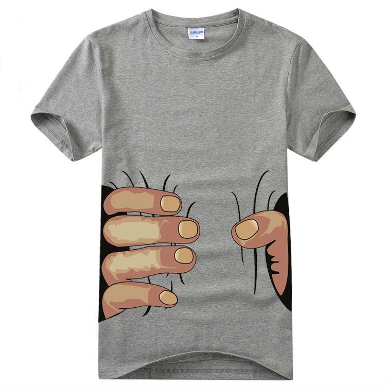 topos 2012 nova moda slim de manga curta apanhar ou segurar camisetas coreanos blusas estilo livre do transporte T2
