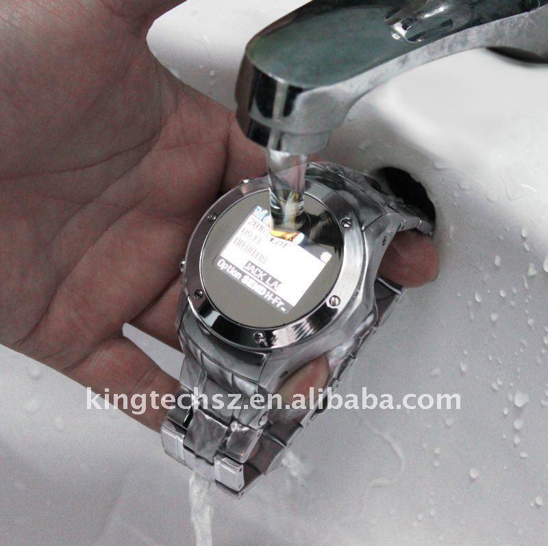2012 Really Waterproof watch phone w968