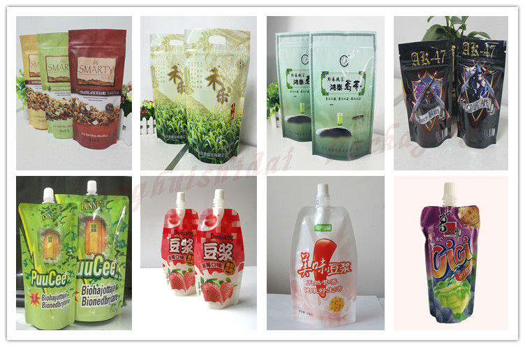 salad bag manufacturers / plastic bag with spout