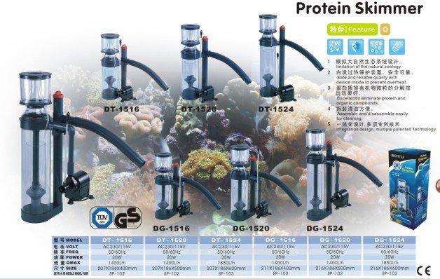 Marine Aquarium Protein Skimmer DT-2524 (Table Model)