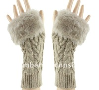 Женские перчатки LONG knitting gloves, no fingers, warm and fashion, winter gloves, high quality, cheap price