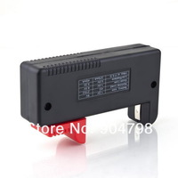 New Universal Button Battery Tester Checker for AA AAA C D 9V free shipping