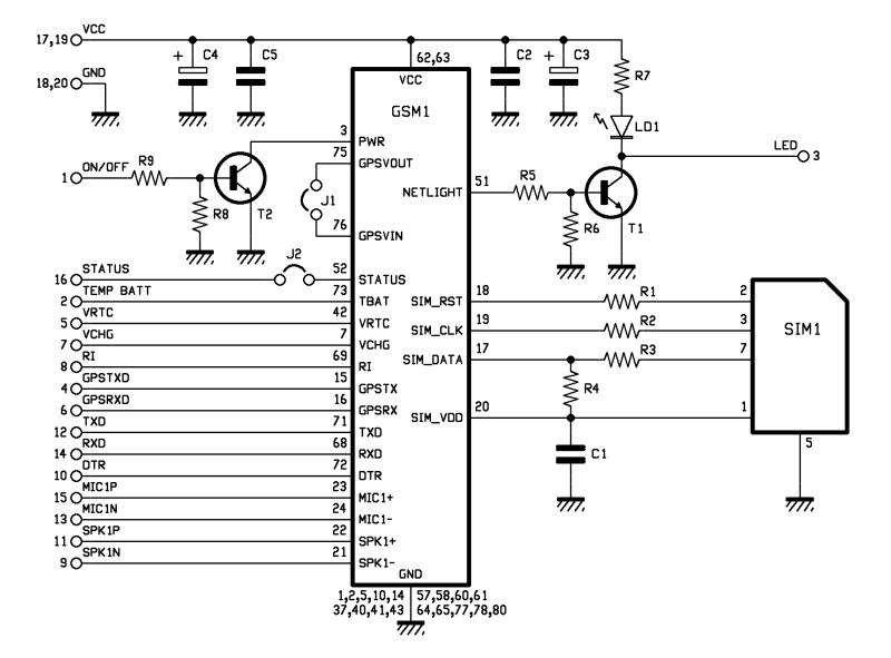gprs gps модуль sim908