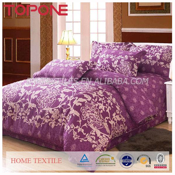 European Style Pretty 100% Cotton Bedding Product Luxury Home Textile