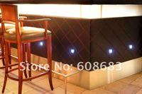 0.6W IP67 Waterproof Square LED Floor Light: 30pcs lights & 6pcs T connection cable & 1pc 30W driver