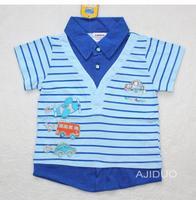 Футболка для мальчиков AJIDUO 1/6y Baby 100% 5  AJ52118