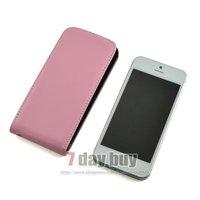 Чехол для для мобильных телефонов 20PCS/ lot Phone Protective Holster For Apple iphone5 Genuine Leather Flip Cover Case For iPhone 5 5G