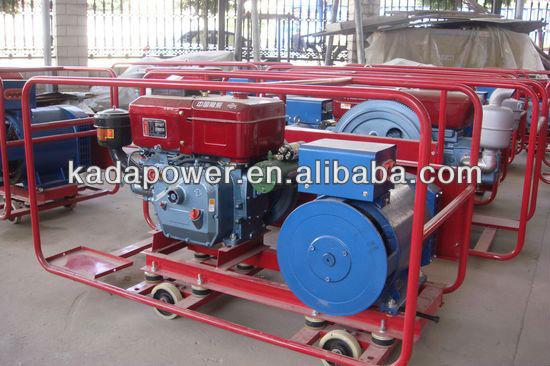 380V 50Hz 15KW Single Cylinder Generator GF1 Diesel Power Generation