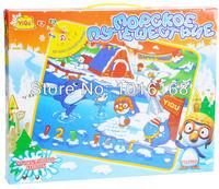 Обучающий компьютер для детей Russian toy children toy Children's playground carpet world of ice and snow game blanket Learning machine