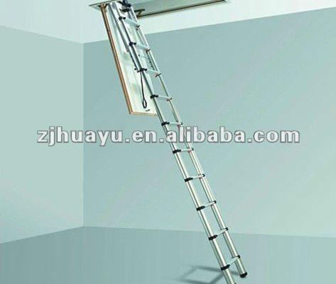 escalera telescopica de aluminio