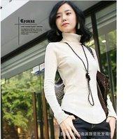 free  shipping,2012 New Arrival,Hot Sell women's fashion  Cotton t shirt top clothes women t-shirt/Bottoming shirt