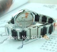 Наручные часы holiday sale black white ceramic watch women lady crystal wrist watch clock 7792