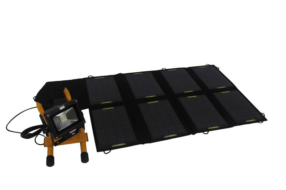 Зарядное устройство для мобильных телефонов 9V 10W Folding Portable Solar Panel Battery Charger Dual Output Controller Pack