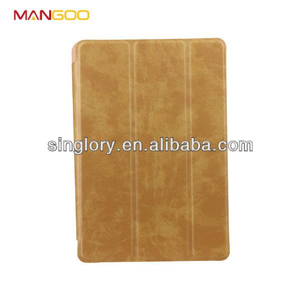 Wholesale price leather case for ipad mini 2 cover