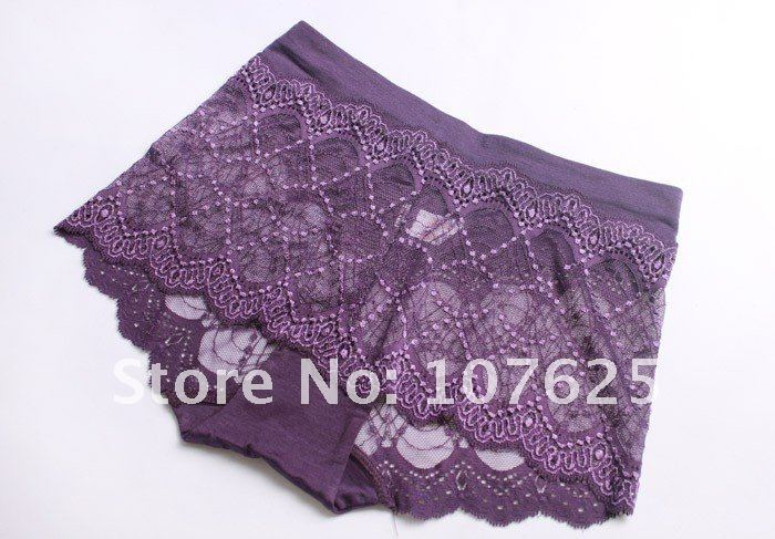 2012 free shipping wholesale&retail sexy fashion lady's Pierced Lace Panties woman's underwear  sexy Lingerie with 10 colors