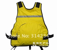 $15 off per $150 order!Hot sale 400D PU waterproof coating Floating >7.5kg life jacket vest removeable floating  life vest
